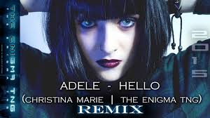 adele hello christina marie the enigma tng remix youtube