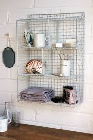 Wall Mount Wire Shelving by Wall Mounted Wire Storage Shelving Unit White