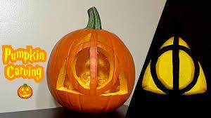 pumpkin pattern wallpaper deathly hallows pumpkin carving youtube