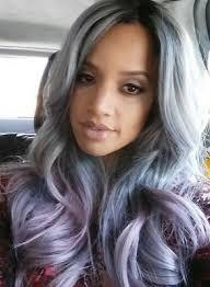 grey streaks in hair 5 star seller grey purple ombre hair extensions silver hair