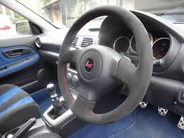sti subaru red subaru royal steering wheels