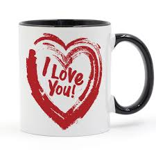 heart shaped mugs i you heart shaped mug coffee milk ceramic cup creative diy
