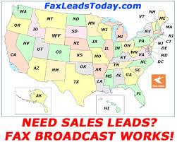 area code de usa fax broadcast sales leads fax lists fax blast pricing