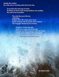 poetry advent calendar joanna streetly
