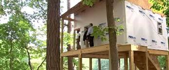 I Have Built A Treehouse - group tells georgia resident to stop building treehouse for his