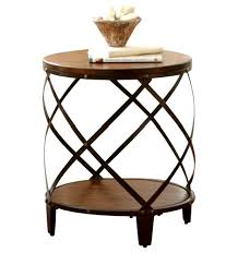 24 round decorator table 24 inch round decorator table awesome industrial end tables side