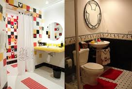 mickey mouse bathroom ideas mickey mouse tiles for bathroom bathroom disney theme home interiors