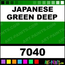 japanese green deep artists oil paints 7040 japanese green