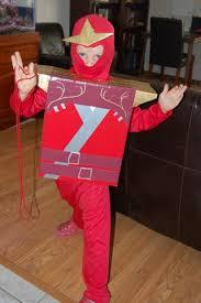 Ninjago Halloween Costume Lego Ninjago Costume Cardboard Box Colored Duct Tape