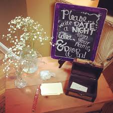 Couple Shower Ideas Sign In Table For A Couple U0027s Shower Or Bridal Shower So Much More