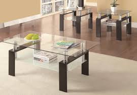 Coaster Furniture 3 Pc Table Set In Black Big Ben