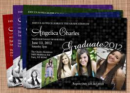 sided graduation announcements designs sided casual graduation invitations templates as