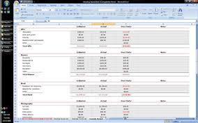 Samples Of Budget Spreadsheets wedding excel spreadsheet thebridgesummit co