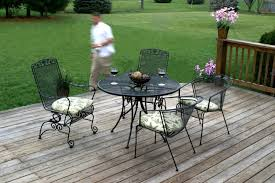 everlasting iron outdoor furniture for attractive outdoor