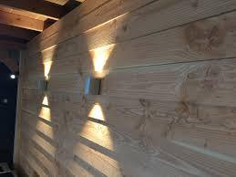 verlichting in een douglas terrasoverkapping natuurlijk van in