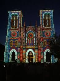 san fernando cathedral light show san fernando cathedral in san antonio tx on friday night they have
