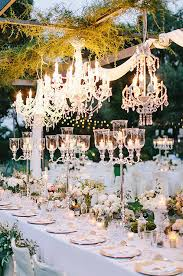 Decor Chandelier Whether An Outdoor Garden Wedding Or Winter Reception Indoors