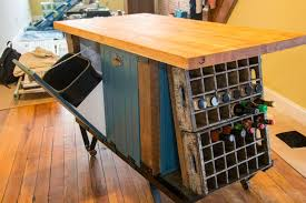kitchen island with garbage bin kitchen cart with tilt out trash bin modern kitchen island