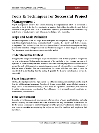 project formulation and appraisal pdf project management