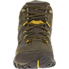 merrell men u0027s all out blaze mid wp hiking boots black slate