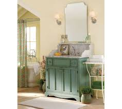 Update Bathroom Mirror by Pottery Barn Bathroom Vanity Interior Design With Painted Blue