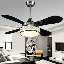 Ceiling Fan With Pendant Light 42 Inches Plafond Indoor Decoration Ceiling Fans Pendant Light