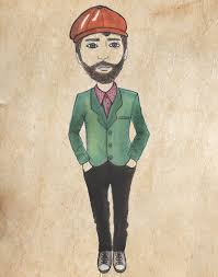 hipster sketches by jane elmgreen made in shoreditch magazine