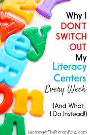 why i don u0027t switch out my literacy centers every week and what i