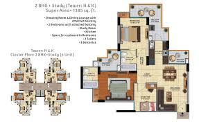 ace city floor plan 2 3 bhk flat floor plan