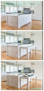 kitchen island with pull out table kitchen island with slide out table modern white design