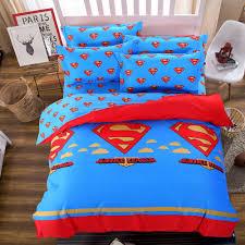 Bedspread And Curtain Sets Bedroom Adorable Dazzling Blue Avenger Bed Comforter And Batman