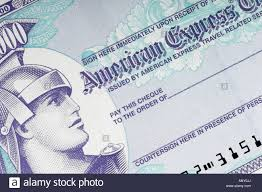 travelers stock images American express 1000 dollar travelers cheque closeup stock photo jpg