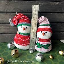 enjoy the view adorable snowbaby snowman tutorial