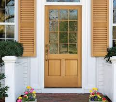 Wood Exterior Door Wood Exterior Doors In Oklahoma Windows Doors
