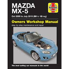 mazda mx 5 convertible roadster coupe 1 8 2 0 mk3 2005 15 haynes