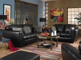 Black Leather Sofa Set Leather Living Room Furniture Set Black Leather Living Room Set