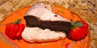 flourless chocolate macaroon kahlua cake mary u0027s joy of family