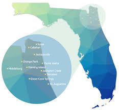 Jacksonville Map Contact Us Bold City Heating And Air Jacksonville Florida