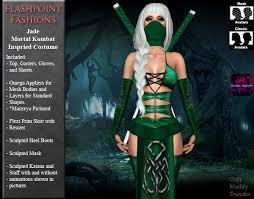 Jade Halloween Costume Marketplace Jade Ninja Costume