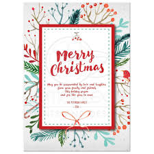 christmas cards in watercolor merry christmas card watercolor foliage