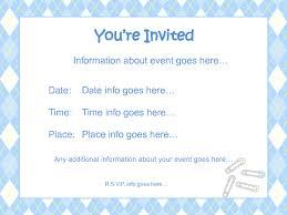 baby shower invitations templates for boys paperinvite