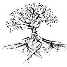 25 unique tree roots ideas on tree tattoos
