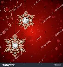 new year jewelry vintage gold jewelry snowflakes diamonds on stock vector 334334018