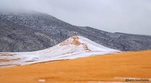 let it snow winter comes as surprise to world u0027s warmest places
