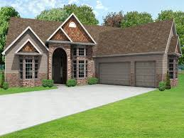 house plans with 2 separate garages drive under garage ranch house plans narrow with car angled