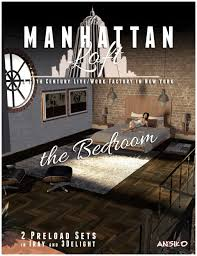 manhattan loft bedroom expansion 3d models and 3d software by