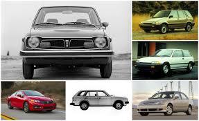 honda car styles civic pride a visual history of the honda civic