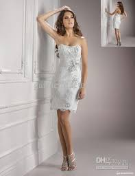 informal wedding dresses informal wedding dresses strapless sheath white lace