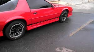 1991 camaro rs t top 1991 chevrolet camaro rs targa burnout