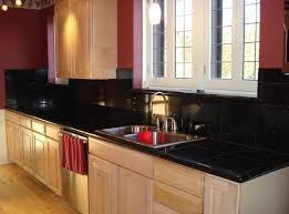 Kitchen Backsplash For Black Granite Countertops - kitchen backsplash ideas with black granite countertops with